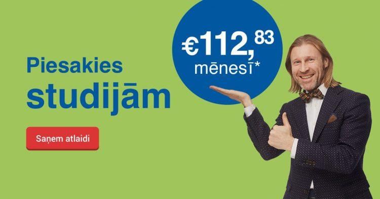 Saņem labāko cenu Biznesa vadības koledžā un studē tikai par 112,83 EUR mēnesī!