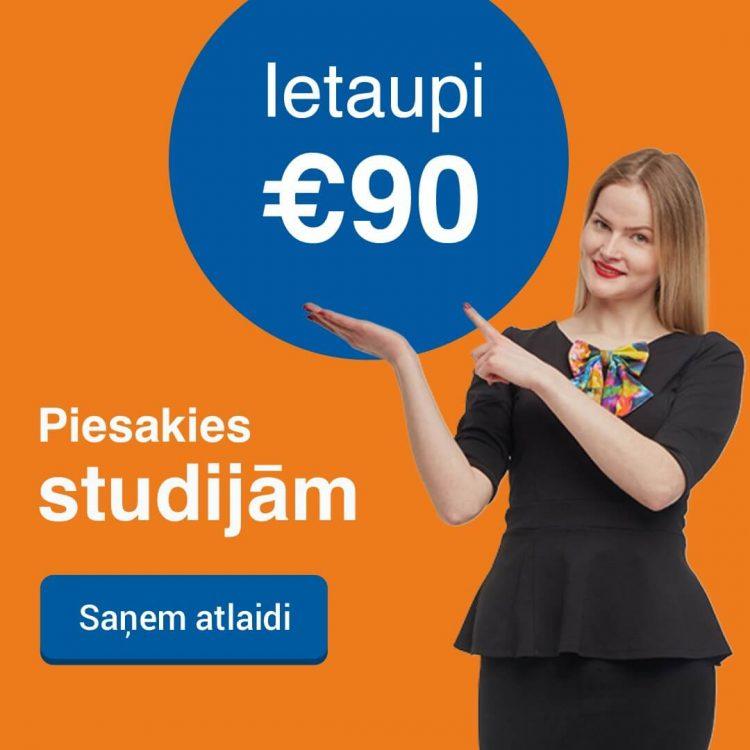 Saņem labāko cenu Biznesa vadības koledžā 2019. gadā un ietaupi studijām 90 EUR!
