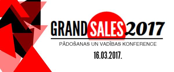 """Biznesa vadības koledža sadarbībā ar """"Pārdošanas skola"""" piedāvā Grand Sales 2017"""