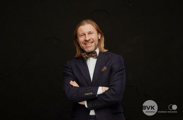 Jānis Stabiņš, Biznesa vadības koledžas direktors