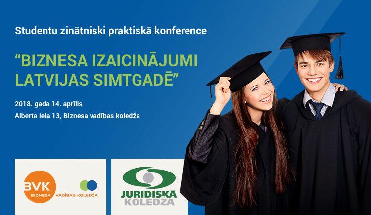 Biznesa izaicinājumi Latvijas simtsgadē - BVK konference