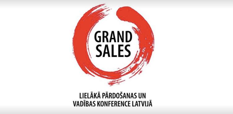 «Grand Sales 2018» 13.aprīlī