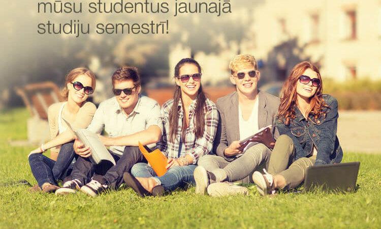 Sveicam Biznesa vadības koledžas studentus jaunajā studiju semestrī!