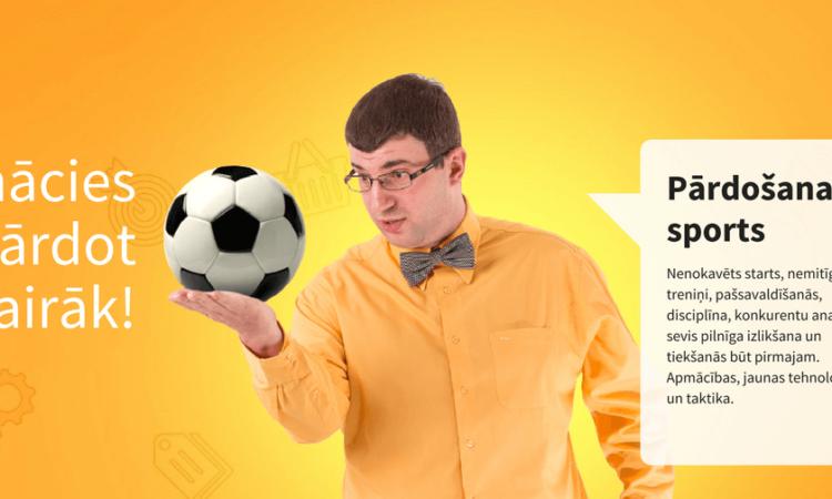 Pārdošanas skola - Pārdošana ir sports - Jānis Viegliņš