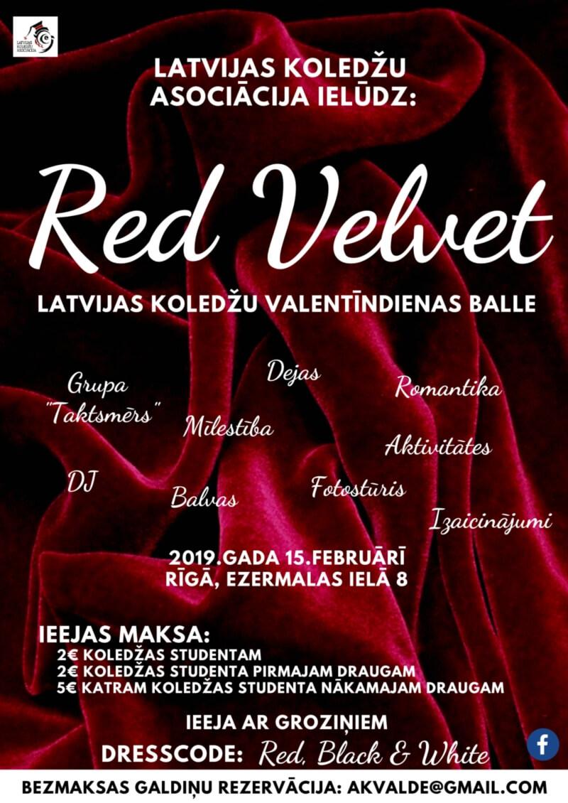 Red Velvet - Latvijas koledžu Valentīndienas balle