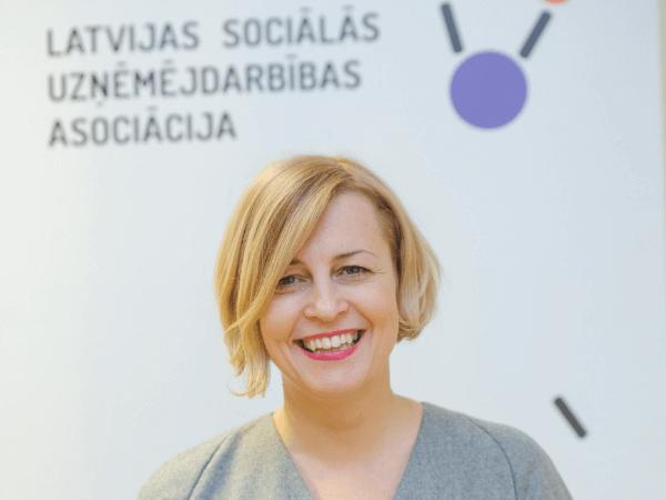 Liene Reine-Miteva, Sociālās uzņēmējdarbības asociācijas direktore
