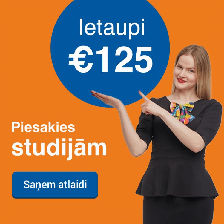 Rezervē labāko cenu Biznesa vadības koledžā 2019. gadā un ietaupi 125 EUR studijām jau šodien!