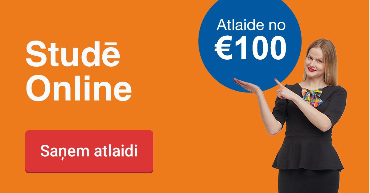Rezervē labāko cenu līdz 22. janvārim un ietaupi 145 EUR studijām